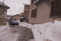 Nymfaion, north Greece - winter.
