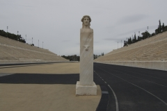 Athens,  Greece. The historic stadium where the first Olympics were held!