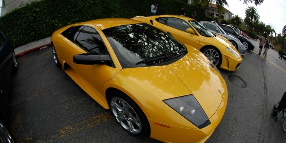 Lamborghinis and fun. A 3D Movies You Can Touch production.