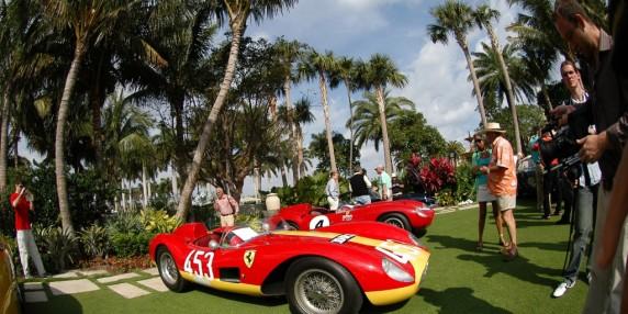 Older Ferraris.