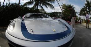 Ferrari cars in 3D movies.