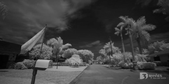 Infrared – Black and White. 3D Movies You Can Touch!