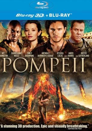 POMPEII BLU RAY DVD