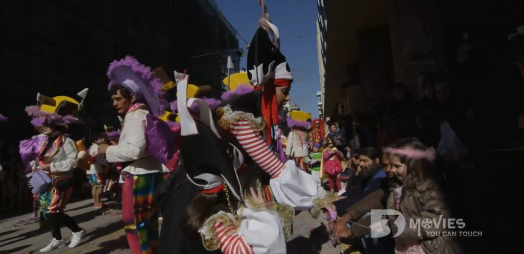 PATRAS CARNIVAL IN 3D FROM 3DMOVIES.CON AND TED AMARADIDIS
