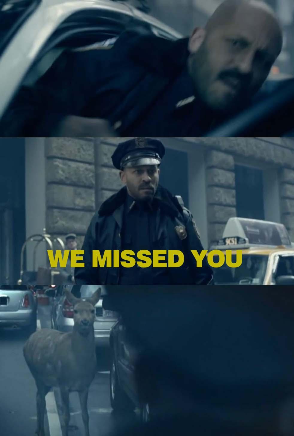 WE MIISS YOU!